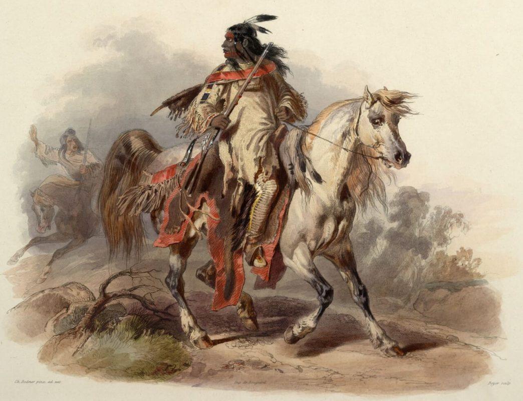 Лешниковото дърво и индианците